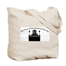 Laws of O.T. Tote Bag