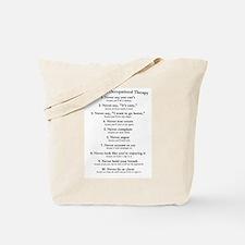 Laws of O.T. Tote Bag