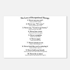 Laws of O.T. Postcards (Package of 8)