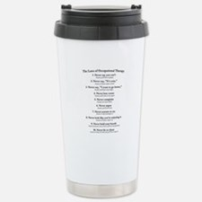 Laws of O.T. Stainless Steel Travel Mug