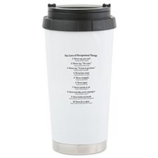 Laws of O.T. Travel Mug