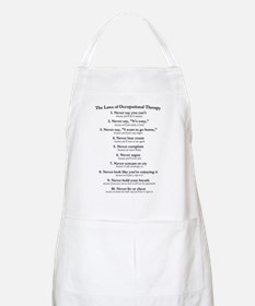 Laws of O.T. BBQ Apron