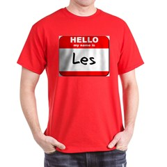 Hello my name is Les T-Shirt