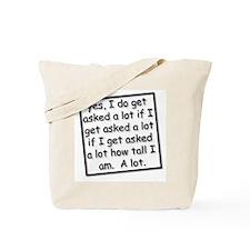 Unique Tall Tote Bag