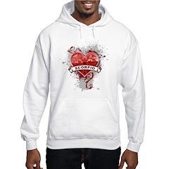 Heart Scorpio Hoodie
