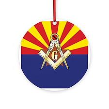 Arizona Mason Ornament (Round)