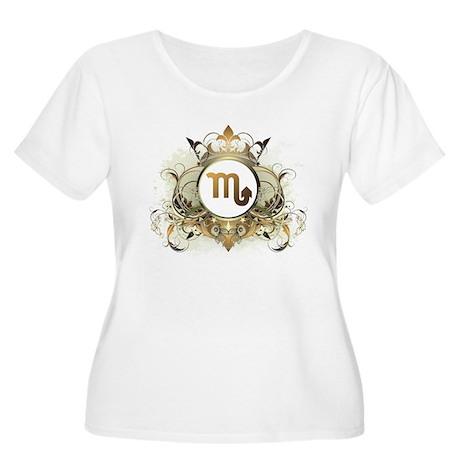 Scorpio Women's Plus Size Scoop Neck T-Shirt