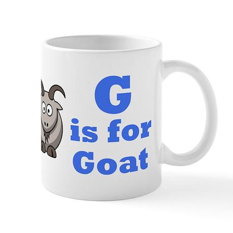 G is for Goat Blue - Mug