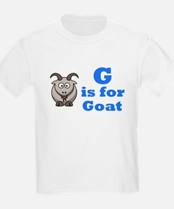 G is for Goat Blue - T-Shirt