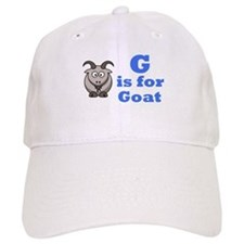 G is for Goat Blue - Baseball Cap