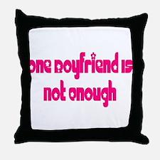 Boyfriend Throw Pillow