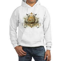 Stylish Om Hooded Sweatshirt