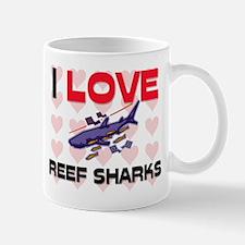 I Love Reef Sharks Mug