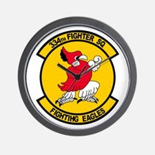Cool Fighting eagle Wall Clock