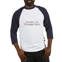 I Support The Twilight Guy (W Baseball Jersey