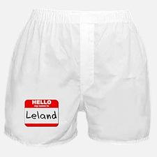 Hello my name is Leland Boxer Shorts