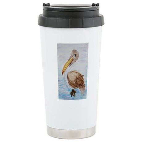 BROWN PELICAN Stainless Steel Travel Mug