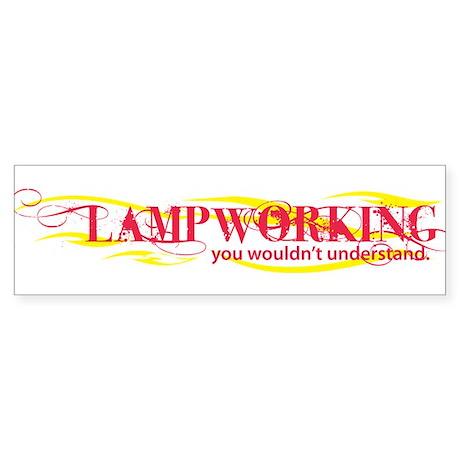 Lampworking Bumper Sticker