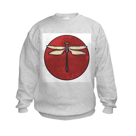 Dragonfly Moon Kids Sweatshirt