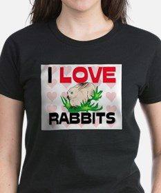 I Love Rabbits Tee