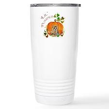 Pumpkin Yorkshire Terrier Travel Mug