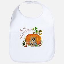 Pumpkin Yorkshire Terrier Bib