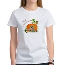 Pumpkin Yorkshire Terrier Tee