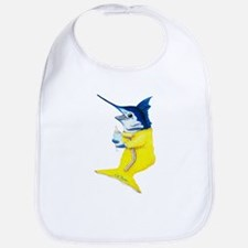 Marlin baby fish Bib