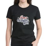 I Am A Twilight Girl Women's Dark T-Shirt
