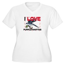 I Love Purple Martins T-Shirt