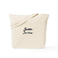 Justin - The Usher Tote Bag