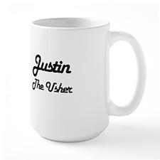Justin - The Usher Mug
