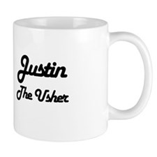 Justin - The Usher Small Mugs