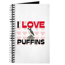 I Love Puffins Journal