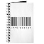 Type Setter Bar Code Journal