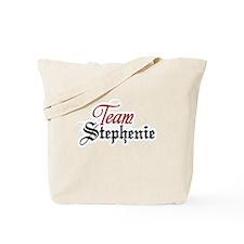 Team Stephenie Tote Bag