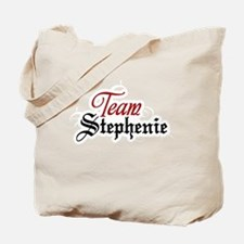 Team Stephenie Tote Bag