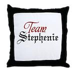 Team Stephenie Throw Pillow