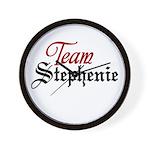 Team Stephenie Wall Clock