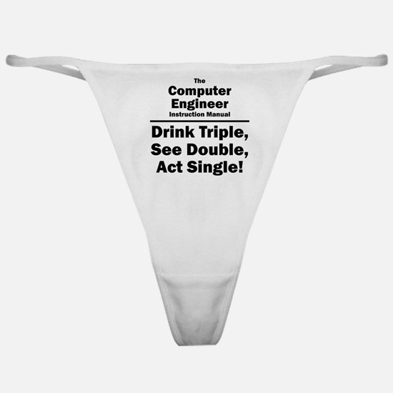 Computer Engineer Classic Thong