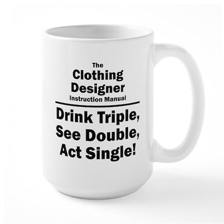 Clothing Designer Large Mug