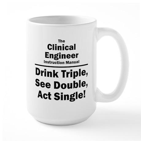 Clinical Engineer Large Mug