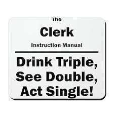Clerk Mousepad