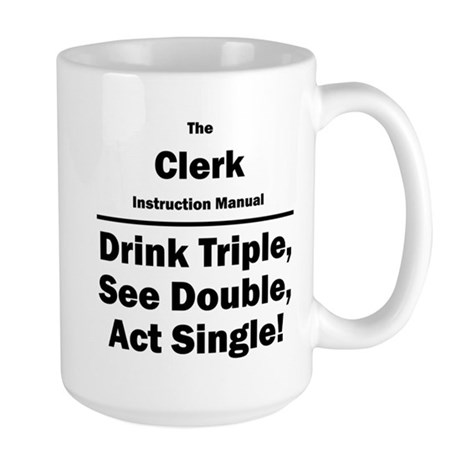 Clerk Large Mug