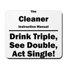 Cleaner Mousepad