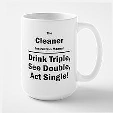 Cleaner Large Mug