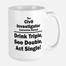 Civil Investigator Mug