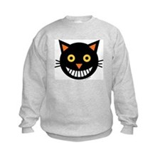 Spooked Black Cat Sweatshirt
