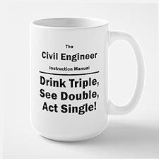 Civil Engineer Large Mug