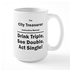 City Treasurer Mug